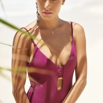 Malai Swimwear Sangria One Piece - Trammel Sea