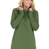 As I Am Tunic in Green | Monday Dress Boutique