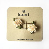 love for cream hair pin set // woodland collection by kisforkani