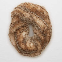 Aerie Furry Twist Snood , Natural