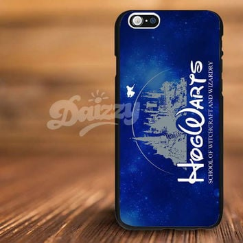 Harry Potter Hogwarts Castle Parody Disney For iPhone 4/s, 5/s, 5c,6, 6+ and Samsung S3, S4, S5 Case Plastic or Rubber