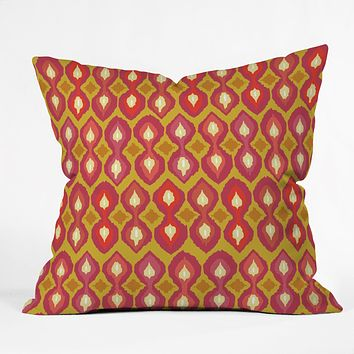 Sharon Turner Party Boardwalk Ikat Throw Pillow