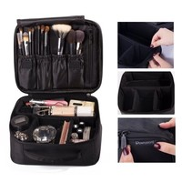 Smarit Portable Travel makeup bag / Makeup Case / Mini Makeup Train Case - Walmart.com