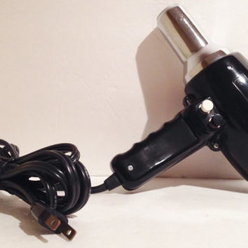 Vintage Mid Century Groovy Hair Dryer