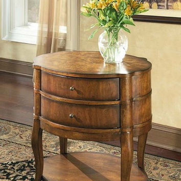 Butler Specialty Umber Oval Side Table - 0515040
