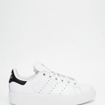 Adidas | adidas Originals Stan Smith Bold Double Sole Sneakers at ASOS
