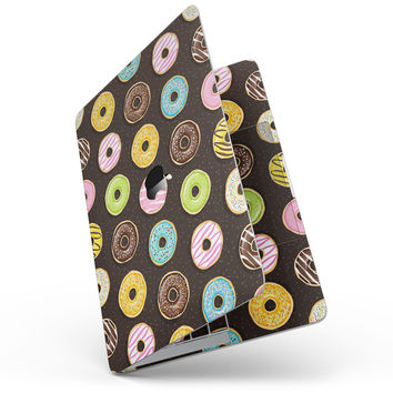 Yummy Colored Donuts v2 - MacBook Pro without Touch Bar Skin Kit