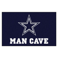Dallas Cowboys NFL Man Cave Ulti-Mat Floor Mat (60in x 96in)