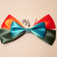 Mad Hatter Hair Bow Alice in Wonderland Disney by bulldogsenior08