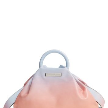 MARC BY MARC JACOBS 'Medium - Hanging Round' Leather Ring Tote - Blue