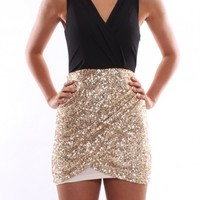 Midnight Shimmer Black - Dresses - Shop by Product - Womens