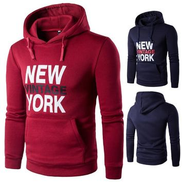 Print Casual Hot Sale Alphabet Hoodies [10669406339]