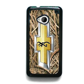 CAMO BROWNING CHEVY HTC One M7 Case Cover