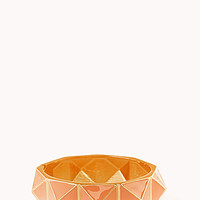 FOREVER 21 Pyramid Hinge Bangle