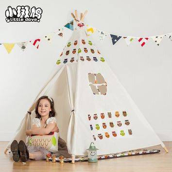 New Children's Toy Tent Super Game Room Baby Play Room Cloth Princess Room Luxury Indian Tents