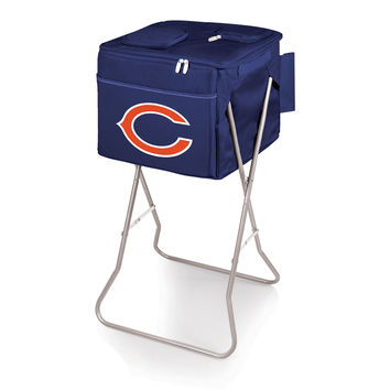 Chicago Bears - Party Cube Portable Standing Beverage Cooler (Navy)