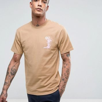 Stussy T-Shirt With Logo at asos.com