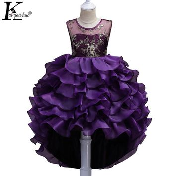 Girls Dress 2018 New Christmas Princess Dresses For Girls Clothes Tutu Wedding Dress Children Clothes New Year Costumes For Kids