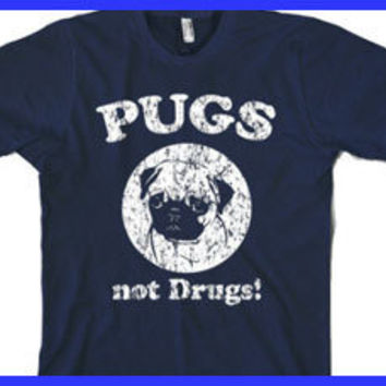 Pugs t shirt funny dog t shirt S-3XL