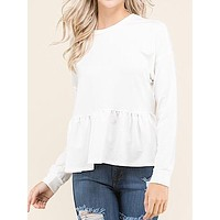 Better Days Top | White