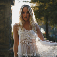 Layers Of Lace Tank