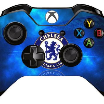 1pc Chelsea Football Team Skin Sticker Decal For Microsoft Xbox one Game Controller Skins Stickers for Xbox one Controller Vinyl