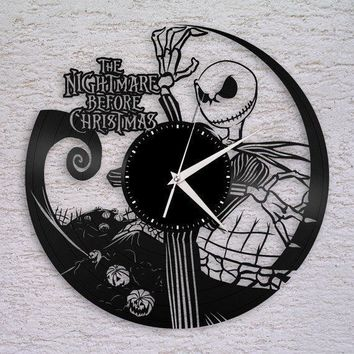 Nightmare before Christmas WALL ART for Damon on a Disney Haunted Mansion  RECORD