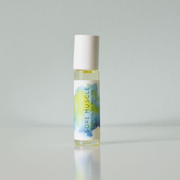 Sore Muscle Essential Oil Roll On