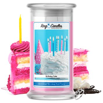 Birthday Cake | Ring Candle®