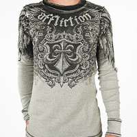 Affliction Placentia Reversible Thermal Shirt