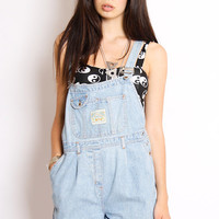 YAYER.CO.UK / Art Fashion Denim Dungarees