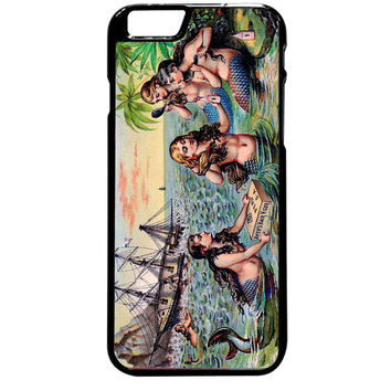 Vintage Mermaids For iPhone 6 Plus Case *ST*