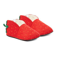 Strawberry Slippers Adult Large - Silk Road Bazaar