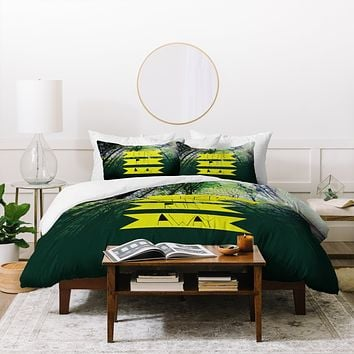 Leah Flores Lets Run Away IX Duvet Cover