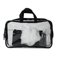 Basics® Junior Weekend Toiletry Bag in Clear/Black