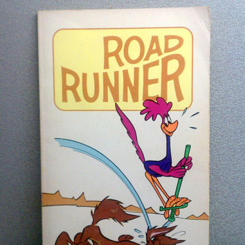 Road Runner Comic Book - 1971 Vintage Children's Book
