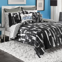 Steve Madden Shana Cotton Reversible 3-piece Duvet Cover Set with Sham Seperates | Overstock.com Shopping - The Best Deals on Teen Duvet Covers