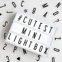My Cinema Lightbox - Mini Cinema Lightbox