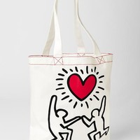 Gap Junk Food Keith Haring Graphic Tote Size One Size - Sugar