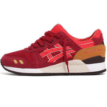 Gel-Lyte III Sneakers Burgundy / Fiery Red