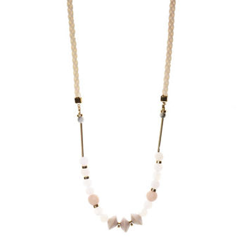 Dash III Necklace - Blush Pink
