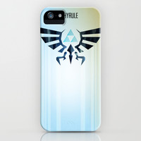 The Legend of Zelda - Hyrule Rising Poster iPhone & iPod Case by Barrett Biggers