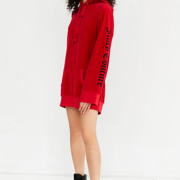 Juicy Couture For UO Oversized Velour Hoodie | Urban Outfitters