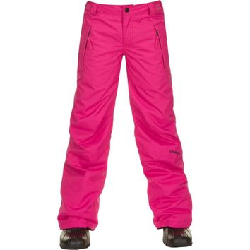 O'Neill Youth Girls Sz 10 Pink Winter Warm Waterproof Snowboard Ski Pants