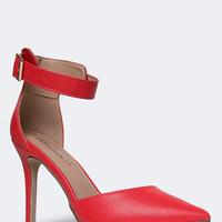 ANKLE STRAP POINTED PUMP