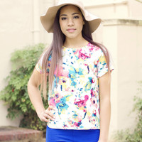 Demure floppy hat (two colors)