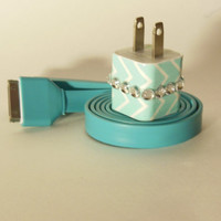 iPhone Charger Decorated with Personality by PersonalPower on Etsy