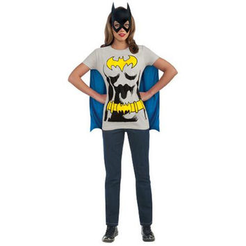 Batgirl T-Shirt Adult Costume Kit - Medium