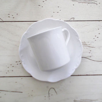 Ironstone China J & G Meakin Cup and Saucer Bridal Tea Luncheon