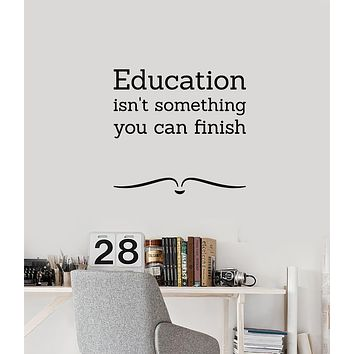Vinyl Wall Decal Education Inspiring Quote letter Symbol Home Decor Stickers Mural (g249)